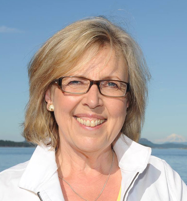 Elizabeth May in Saanich—Gulf Islands