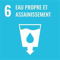 UN Sustainable Development Goal Goals: 6 - Clean water and sanitation