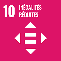UN Sustainable Development Goal Goals: 10 - Reduced inequalities